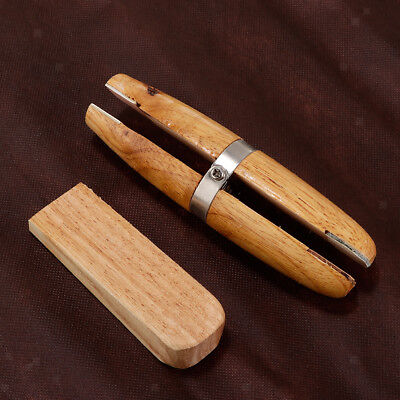 £7 • Buy Wooden Ring Clamp With Metal Holder Jewelry Making Vise Bench Pin Tool Jaws