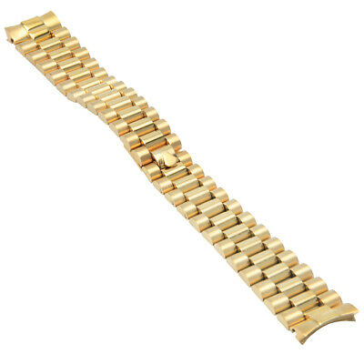 $ CDN62.63 • Buy President 20mm Watch Band For 36mm Rolex Day Date 1801 1802 1803 1805  1808 1811