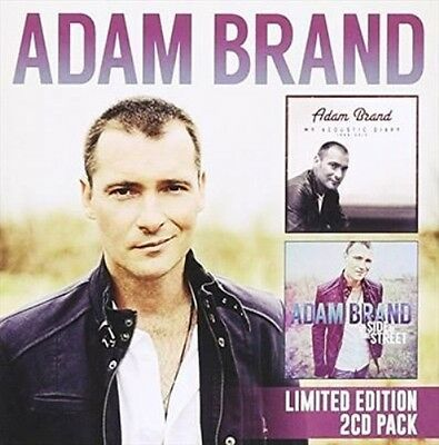AU18.85 • Buy ADAM BRAND My Acoustic Diary/My Side Of The Street 2CD BRAND NEW