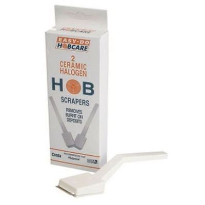 2 Hob Scrapers Easy-Do Hobcare Ceramic Halogen  Cleaner Cooker Stove Kitchen  • 3.95£