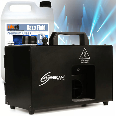 Chauvet DJ Hurricane Haze 1DX DMX Stage 700cfm Mist Machine Inc 5L Fluid • 189£