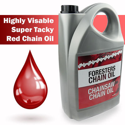 £14.49 • Buy Chain Oil 5L Litre Chainsaw Saw Guide Bar Super Tacky For All Makes Of Saws