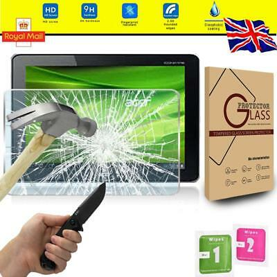 Tablet Tempered Glass Screen Protector Cover For Acer Iconia Tab A700 10.1 Inch • 5.99£