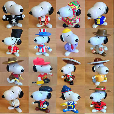 £4.75 • Buy McDonalds Happy Meal Toy 1999 Snoopy World Tour Plastic Toys - Various Countries