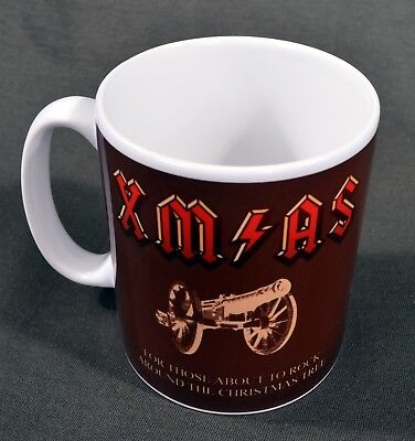 £7.50 • Buy X-mas Christmas Acdc Novelty Large Mug For Those About To Rock Metal Rock Music
