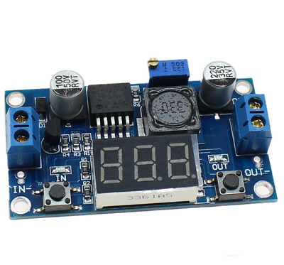 AU4.81 • Buy DC-DC LM2596 Power Supply Buck Converter Step-down Module +LED Display Voltmeter