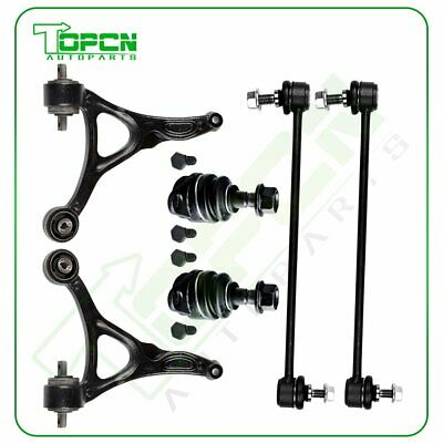 For 2003-2014 Volvo XC90 6Pcs Front Sway Bars Lower Ball Joints Control Arms Kit • 120.64$