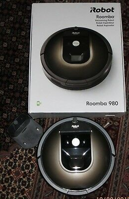IRobot Roomba 980 Robot Cleaner Mapping Wifi Smart Home Echo Battery • 422£