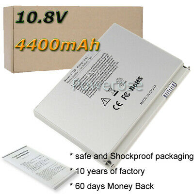 £34.80 • Buy BATTERY FOR APPLE MACBOOK PRO 17  INCH A1189 A1151 MA458 A1261 A1229 A1212 4.4Ah
