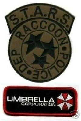 £10.84 • Buy FANCY DRESS HALLOWEEN COSTUME PATCH: Resident Evil STARS UMBRELLA CORP ID TAG A