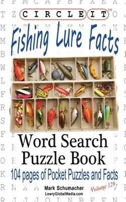 £10.59 • Buy Circle It, Fishing Lure Facts, Word Search, Puzzle Book (Paperback Or Softback)