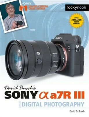 $ CDN36.76 • Buy David Busch's Sony Alpha A7r III Guide To Digital Photography (Paperback Or Soft