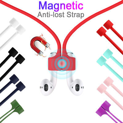 $ CDN1.49 • Buy Magnetic Earphone Anti-lost Strap For Apple AirPods Strap Loop String Rope Cable