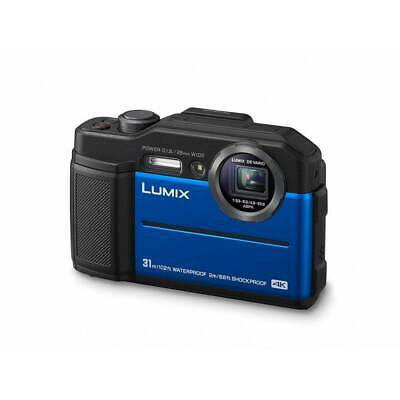 AU650.18 • Buy Panasonic DC-FT7 Lumix Ft 7 Blue Waterproof 4K