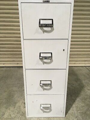 AU600 • Buy 4 Drawer Filing Cabinet Safe Chubb Key Security Shed Fire Resistant Fireproof