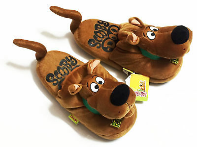 Scooby Doo Adult Unisex Costume Plush Doll Fancy Shoes Indoor Slippers One Size • 24.46£