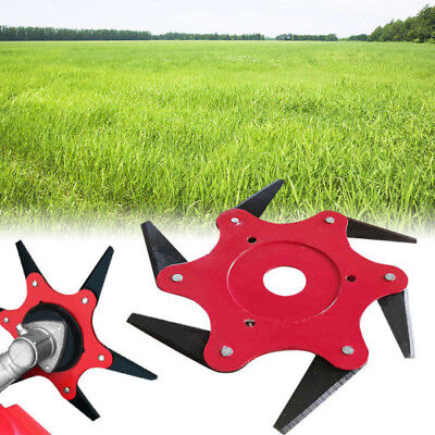 AU16.06 • Buy Trimmer Head With 6 Steel Razor 65Mn Chain Grass Brushcutter For Lawn Mower Hot