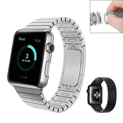 $ CDN86 • Buy Apple Watch Band Stainless Steel Remove Links Without Tools Series 5/4/3/2/1