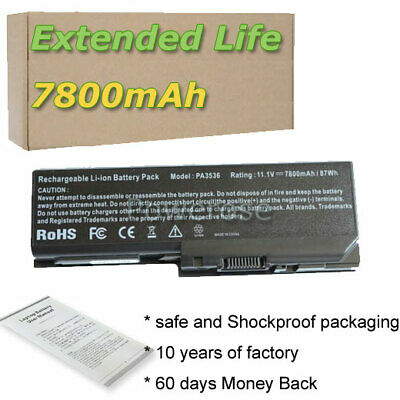 9 Cell Battery For Toshiba Equium P200-178 P200-1ED L350-10L P200D-139 PABAS101 • 23.86£