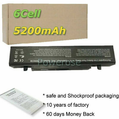 Laptop Battery For Samsung NP300E5A-S01 NP300E5A-A01US NP300E5A-A06UK Notebook • 18.50£