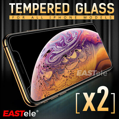 AU3.95 • Buy 2x EASTele For Apple IPhone 8 Plus 7 6s Plus Tempered Glass Screen Protector