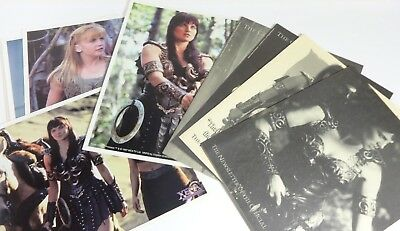 Lot Of (10) Xena The Warrior Princess Collectibles - Prints, Chakram1-4, Poster • 23.16£