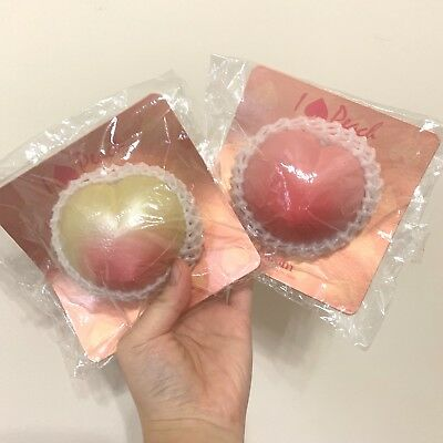 AU103.32 • Buy Rare Japanese Ibloom Peaches NonReproduced Squishy Bundle Set Cell Phone Strap