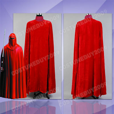 £46.90 • Buy Star Wars Imperial Emperor's Red Royal Guard Costume Cosplay Uniform Outfit Suit