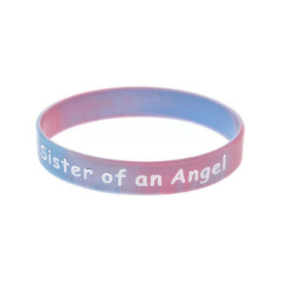 £2.49 • Buy Sister Of An Angel Wristband Silicone Bracelet Wristbands Child Baby Loss UK