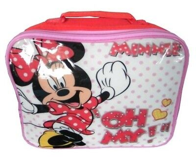 Kids Disney Character LUNCHBOX - Minnie Mouse Or Cars **NEW/TAGGED** • 2.99£