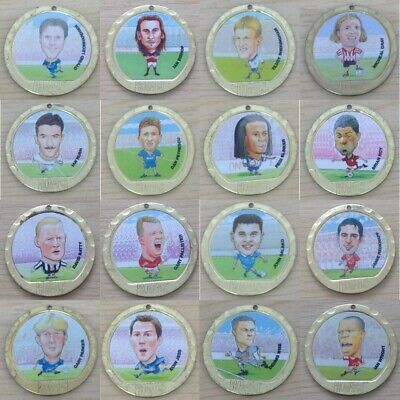 Promatch 97 (1997) Football Player Coin Medals Single Coins - Various Teams • 2.45£