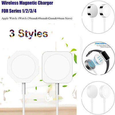 $ CDN5.63 • Buy For Apple Watch/iWatch 1 2 3 Magnetic Charging Cable Wireless Charger Dock 3FT