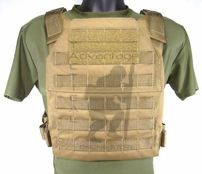 $125 • Buy Grey Ghost Gear Minimalist MOLLE Body Armor Hard Plate Carrier USMC Coyote Brown