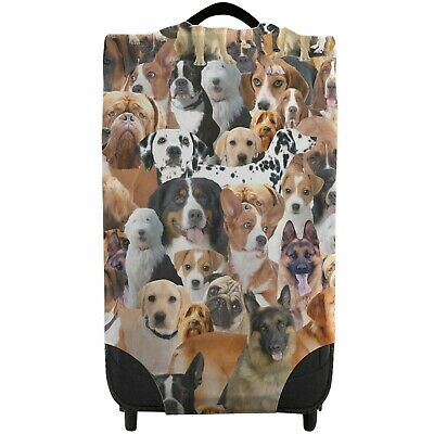 All Over Dogs Design Caseskinz Suitcase Cover *SUITCASE NOT INCLUDED* Animal • 16.99£