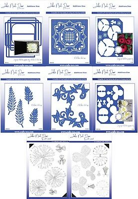 John Next Door - Card Die Collection & Additions Dies & Clear Stamps FREE UK P&P • 16.50£