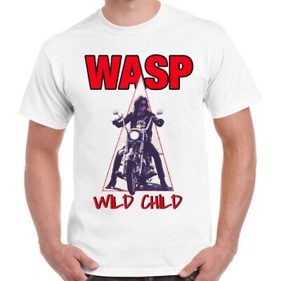 £5.99 • Buy W.A.S.P. Wild Child 80s Heavy Metal Band Wasp Cool Ideal Gift Unisex T Shirt 57