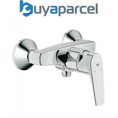 Grohe 23755 BauEdge BauFlow Single Lever Shower Mixer 1/2  Valve Wall Mounted • 64.99£