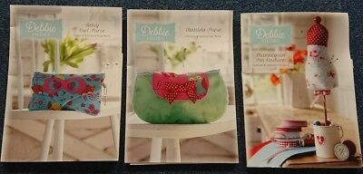 Debbie Shore Pattern And Step By Step Instruction Book Make Your Own - Sewing • 3.79£
