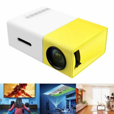 AU68.74 • Buy Portable Mini Projector YG300 3D HD LED Home Theater Cinema 1080p AV USB SD HDMI