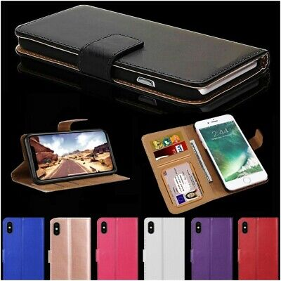 $ CDN5.08 • Buy Case For IPhone 12 11 8 7 6 5s Plus Pro MAX XR Luxury Leather Flip Wallet Cover