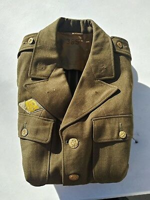 £64.74 • Buy WW2 US Army Tunic 20th Air Force Tech Srg Size 38S - MFG All American - 1942