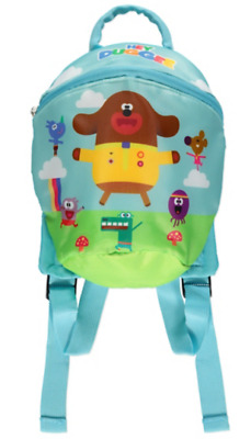 Hey Duggee Rucksack With Reins Boys Toddler Backpack One Size Blue • 24.99£