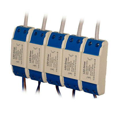 LED Driver Constant Current Power Supply Transformer 3/5/7/9/12/18/24W  • 2.73£