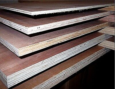 Exterior Plywood. 3' X 2' Hardwood Faces. CPD Complaint. Various Thickness. • 23.25£