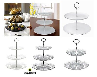 £10.99 • Buy Ariana® 3 Tier Cake Stand Afternoon Tea Wedding Plate Party Tableware Display