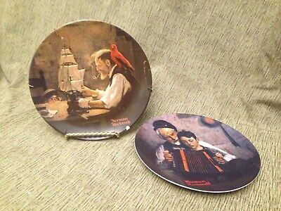 $ CDN7.79 • Buy Norman Rockwell Plates By Knowles
