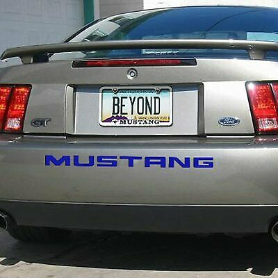 $32.99 • Buy Ford Mustang 1999 To 2004 Rear Bumper Letters Insert Blue