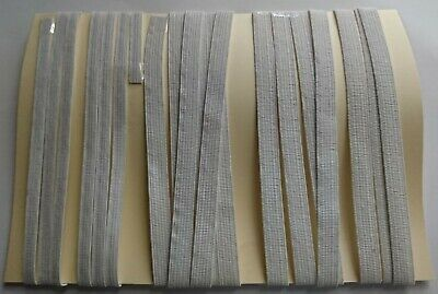 AU7.90 • Buy Swimwear Woven Elastic 6mm & 10mm Remnants Various Sizes 5 Pieces 5.3 Meters