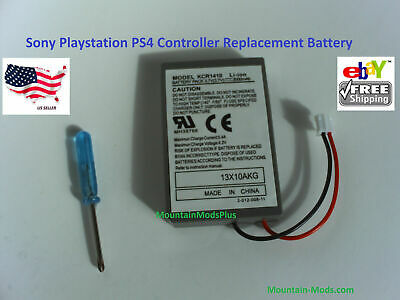 AU14.20 • Buy 2x Sony Playstation PS4 Controller 2000mAh Replacement Rechargeable Battery Tool