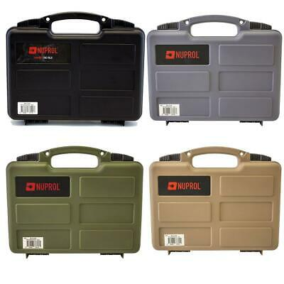 *NEW* Nuprol Small Airsoft Or Paintball Pistol Hard Case With PnP Foam • 11.99£